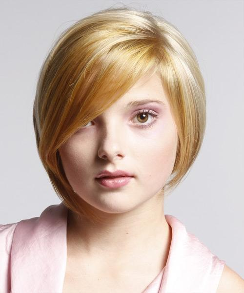 Bob Hairstyles Round Face Shapes