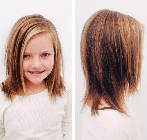 Clean Bob Girls Haircuts