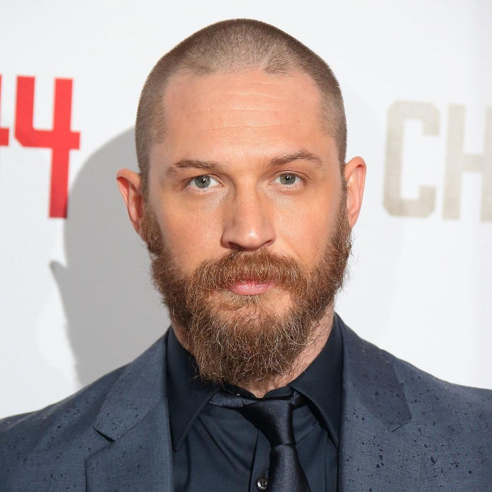 Crew Cut with Moustache and Beard Men Hairstyles
