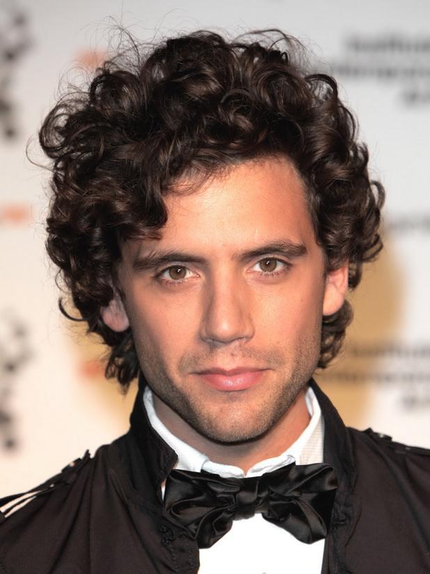 Curly 'Bob' Men Hairstyles