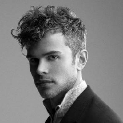 Curly Undercut Men Hairstyle