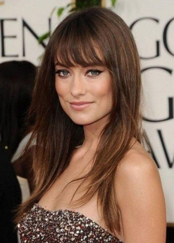 Long Hair with Piecey Bangs hairstyles