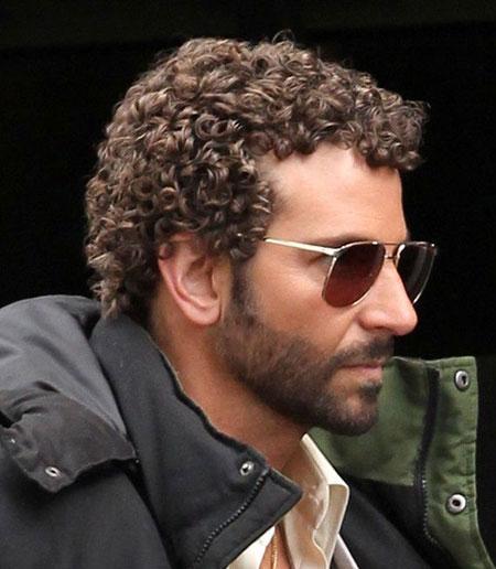 Short Tight Curls Men Hairstyles