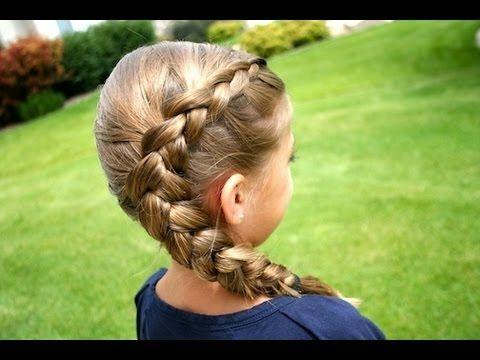 Side Dutch Fishtail Braid Girls Hairstyles