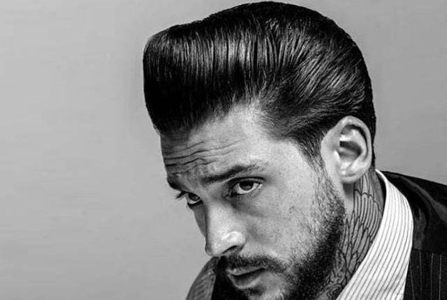 Small Pompadour Men Hairstyles