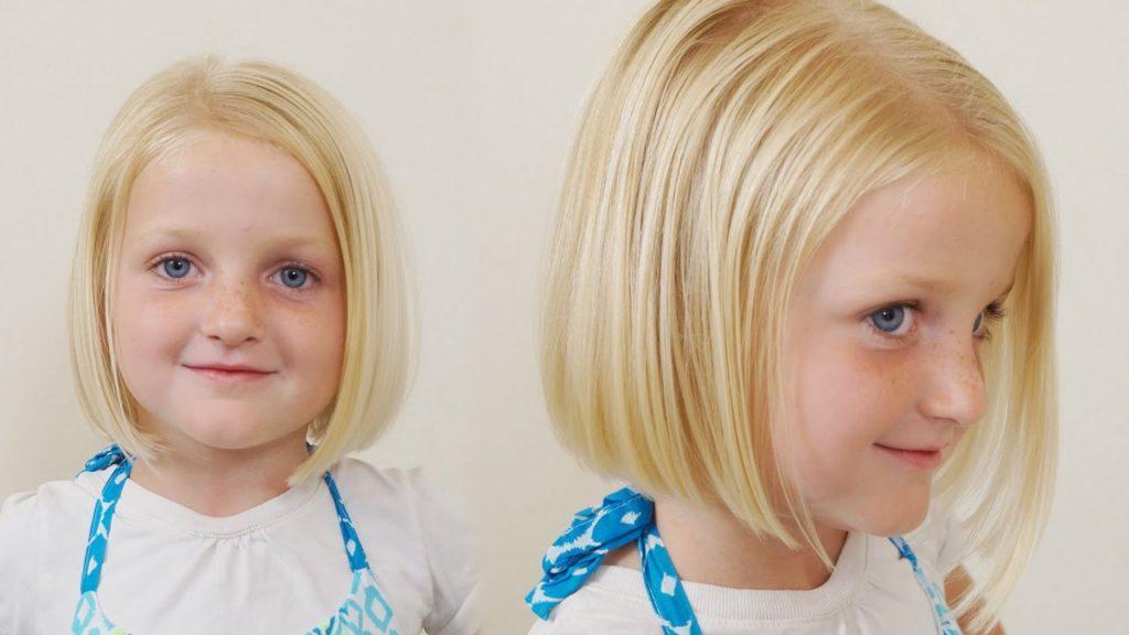 Straight Bob girls hairstyles