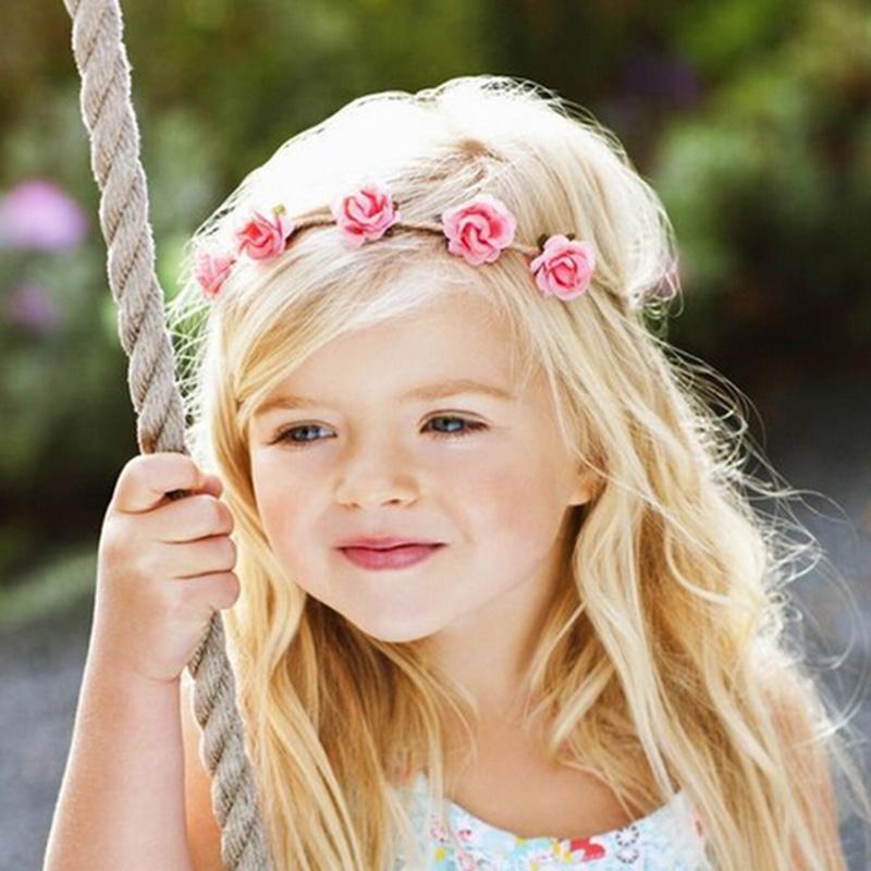 The Flower Headband Girls Hairstyles