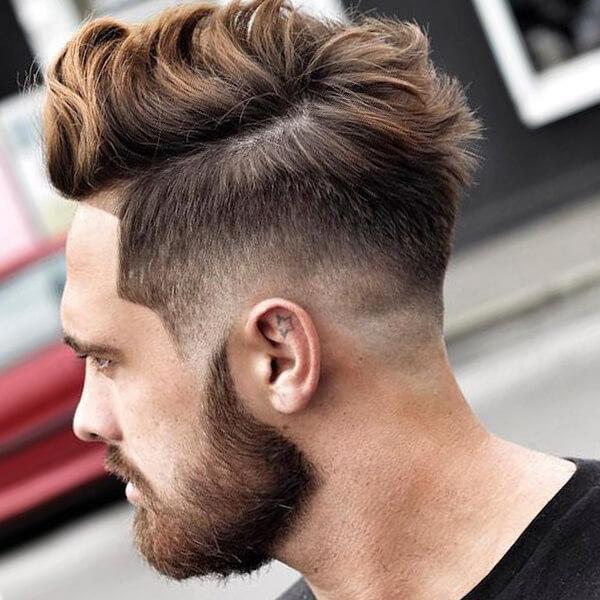 Undercut Pompadour Men Hairstyles